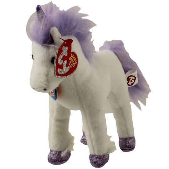 d9dd789aef6 TY Beanie Baby 2.0 - FABLE the Unicorn (6.5 inch)  BBToyStore.com - Toys