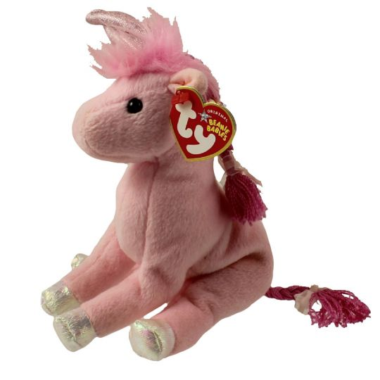 01a928252e6 TY Beanie Baby - FAIRYTALE the Unicorn (6 inch)  BBToyStore.com - Toys