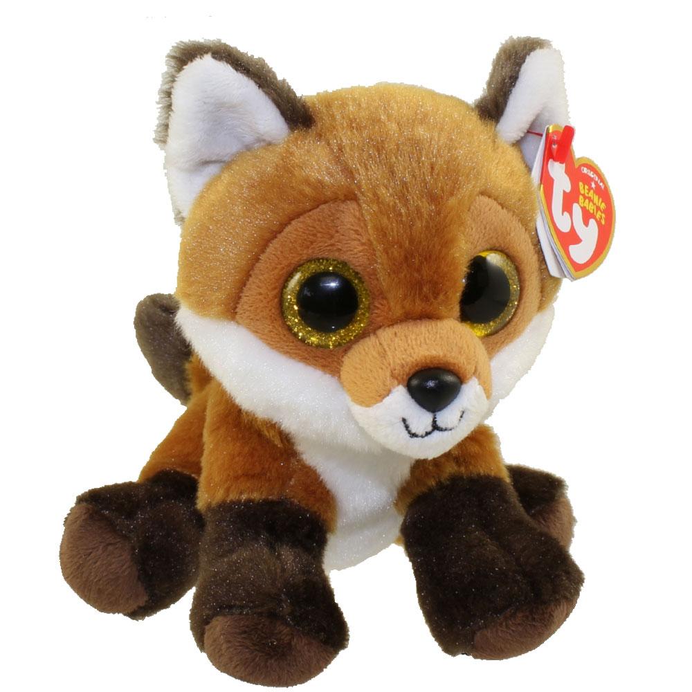 ty beanie baby - fay the fox  6 inch   bbtoystore com