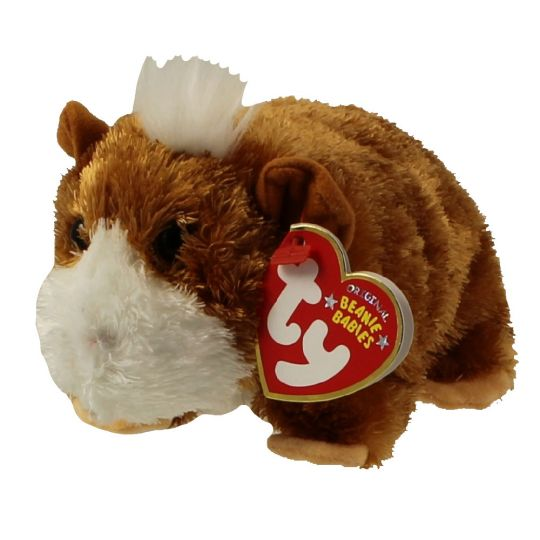 TY Beanie Baby - FEARLESS the Guinea Pig (5.5 inch)  BBToyStore.com - Toys 000fad1f172