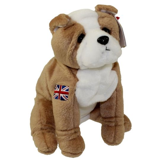 5f896073914 TY Beanie Baby - FEARLESS the English Bulldog (UK Exclusive) (5.5 inch)   BBToyStore.com - Toys
