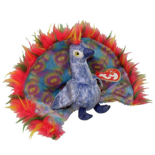 TY Beanie Baby - FLASHY the Peacock (5.5 inch)  BBToyStore.com - Toys 8309cabad91a