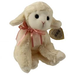 TY Beanie Baby - FLEECIA the Lamb (5.5 inch) 9b7889507f91