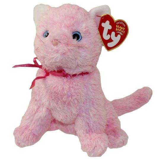 5eec861018b TY Beanie Baby - FLEUR the Pink Cat (6 inch)  BBToyStore.com - Toys ...