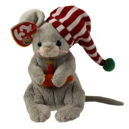 TY Beanie Baby - FLICKER the Mouse (BBOM December 2005) (5.5 inch) b3ad6ab9b418