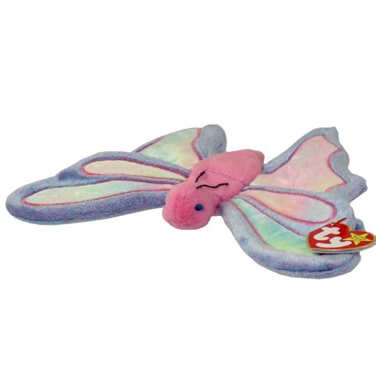 845b960bf87 TY Beanie Baby - FLITTER the Butterfly (9.5 inch)  BBToyStore.com - Toys
