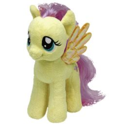 576231a5f5f TY Beanie Baby - FLUTTERSHY (My Little Pony - 7 inch)