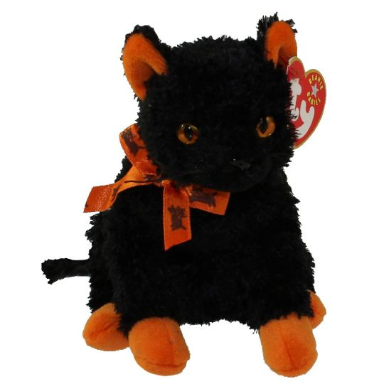 Ty Beanie Baby Fraidy The Black Cat 6 Inch Bbtoystore Com