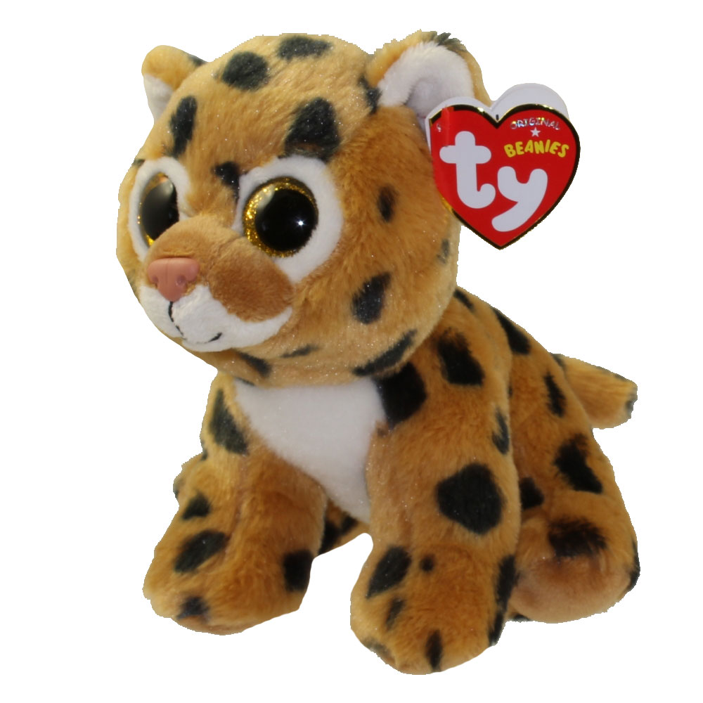 Ty Beanie Baby Freckles The Leopard 2015 Version 6