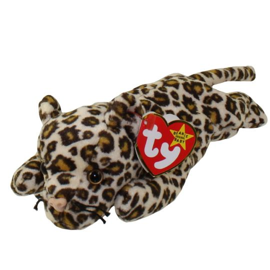 Ty Beanie Baby Freckles The Leopard 8 5 Inch Bbtoystore Com