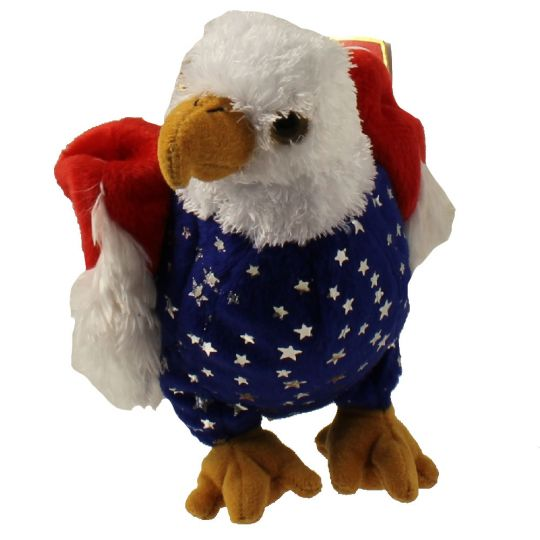 TY Beanie Baby - FREE the Eagle (Internet Exclusive) (5.5 inch)   BBToyStore.com - Toys ecce2aa6bd32