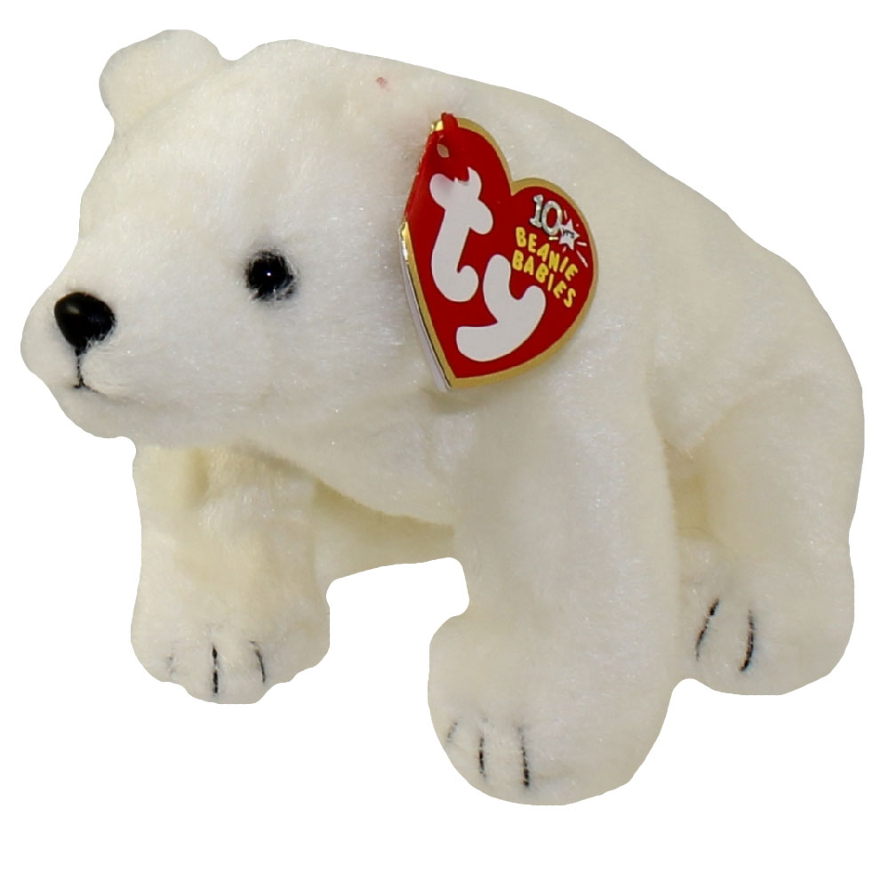 TY Beanie Baby - FRIDGE the Polar Bear (7 inch)  BBToyStore.com - Toys c0d48d9d724