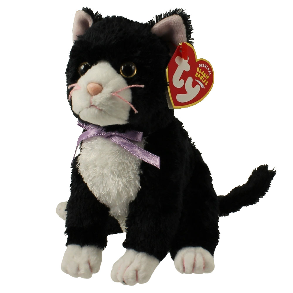 Ty Beanie Baby Fussy The Cat 5 5 Inch Bbtoystore Com