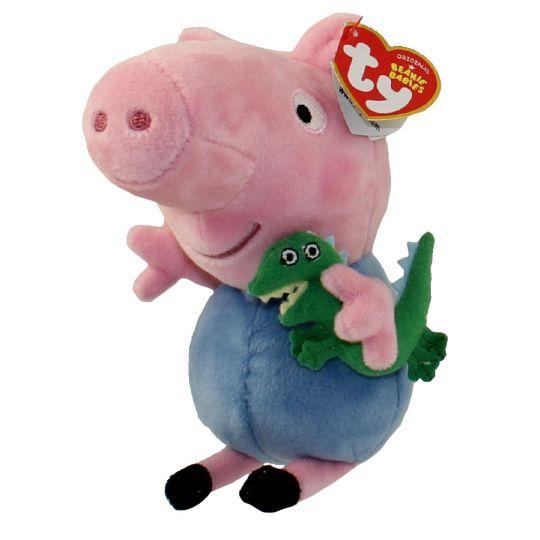 TY Beanie Baby - GEORGE PIG (U.S. Version Peppa Pig - 6 inch)   BBToyStore.com - Toys 69dfcad2e50