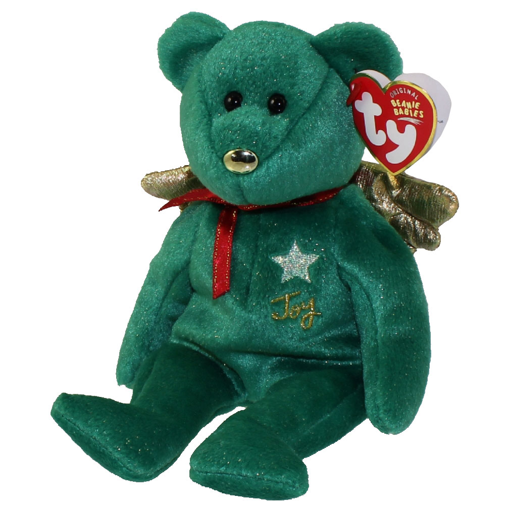 TY Beanie Baby - GIFT the Bear (Green Version) (Hallmark Gold Crown  Exclusive) (8 inch)  BBToyStore.com - Toys 6a94fce7e17