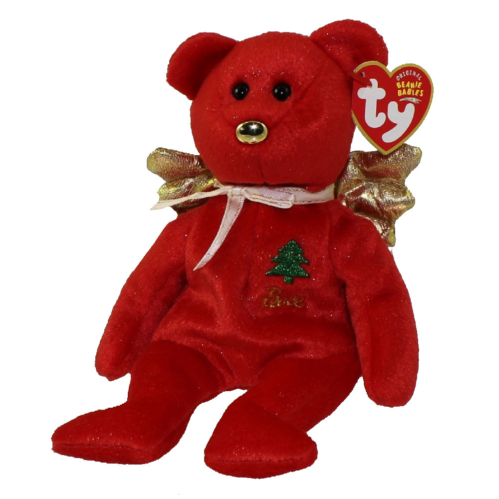Ty beanie baby gift the bear red version hallmark for Bb shop