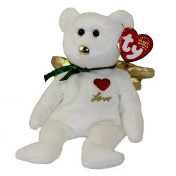 60f3193e383 TY Beanie Baby - GIFT the Bear (White Version) (Hallmark Gold Crown  Exclusive