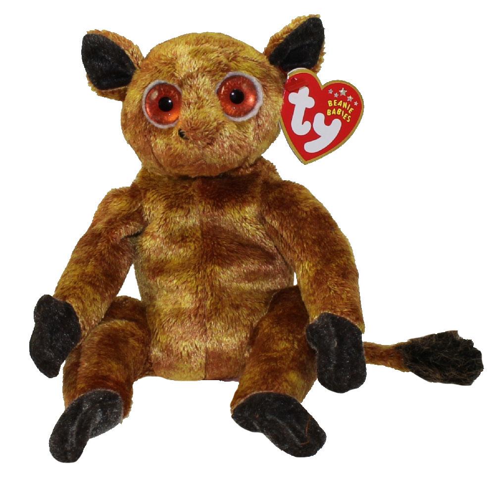 ty beanie baby - gizmo the lemur  8 inch   bbtoystore com