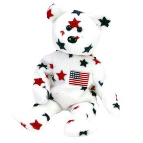 60414ef4cd6 TY Beanie Baby - GLORY the Star Bear (8.5 inch)  BBToyStore.com - Toys
