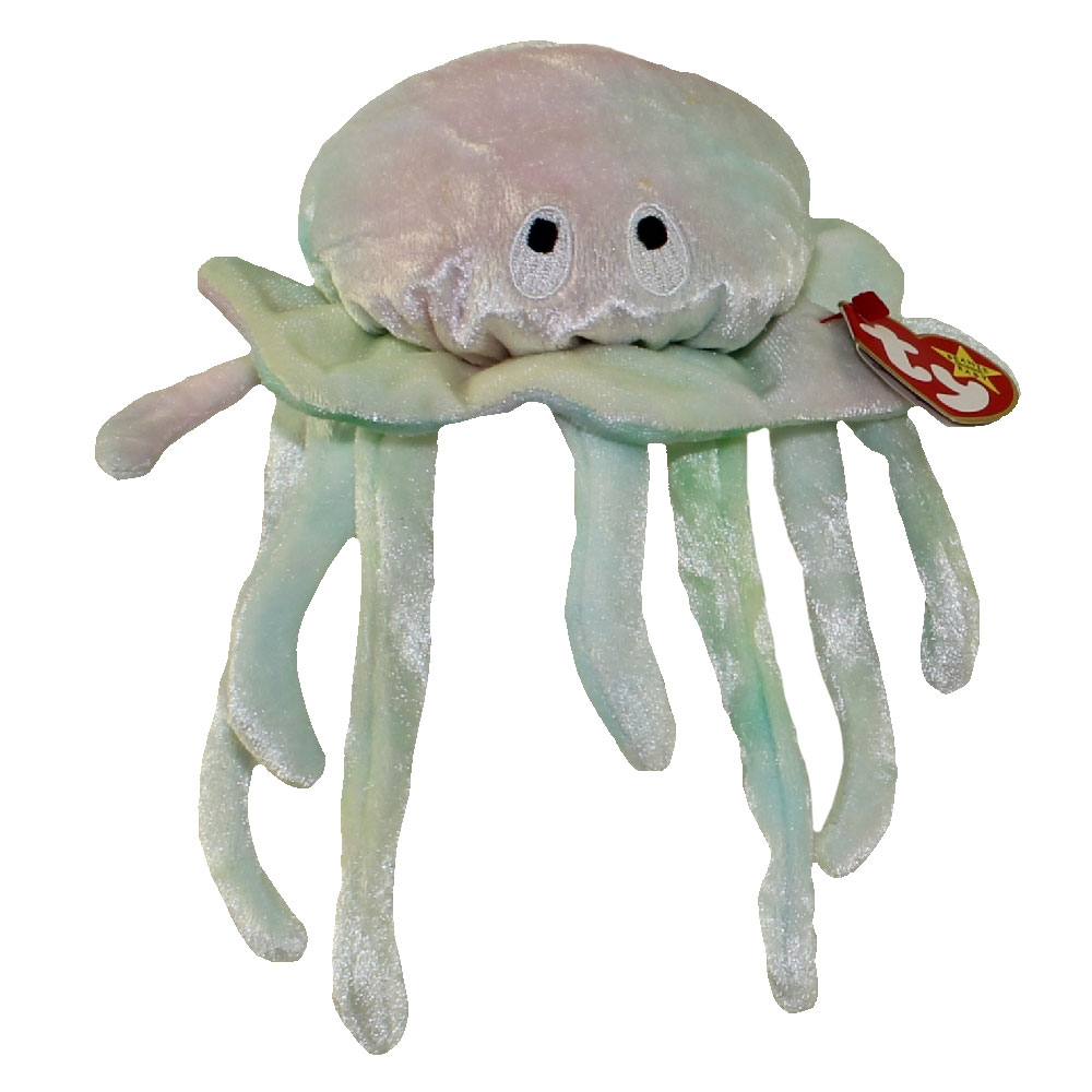 Ty beanie baby goochy the jellyfish 7 5 inch for Fish beanie baby