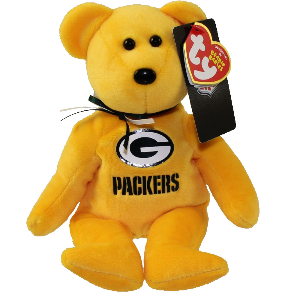 Toy Stores Green Bay : Ty beanie baby nfl football bear green bay packers