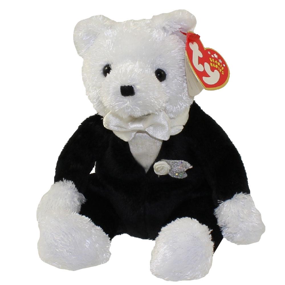 Ty beanie baby groom the wedding bear 8 inch for Bb shop