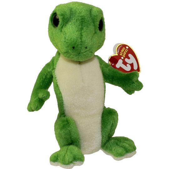 TY Beanie Baby - GUS the Gecko (Green Eyes Version) (7 inch) Rare!   BBToyStore.com - Toys 56fd4d2dc12
