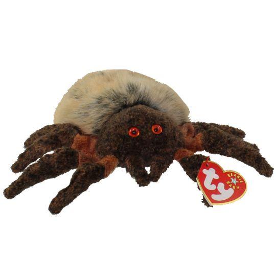 fdf1c4bccb1 TY Beanie Baby - HAIRY the Spider (6 inch)  BBToyStore.com - Toys ...