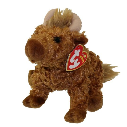 TY Beanie Baby - HAMISH the Highland Cow (UK Exclusive) (7.5 inch)   BBToyStore.com - Toys aa132947ee0