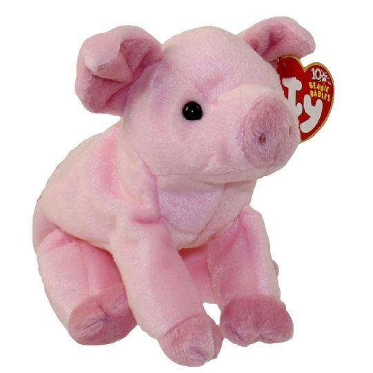TY Beanie Baby - HAMLET the Pig (7 inch)  BBToyStore.com - Toys ... c580e45aa71