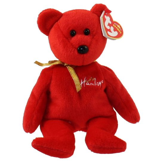 3f88249baef TY Beanie Baby - HAMLEY the Bear (UK Hamleys Store Exclusive) (8.5 inch)   BBToyStore.com - Toys
