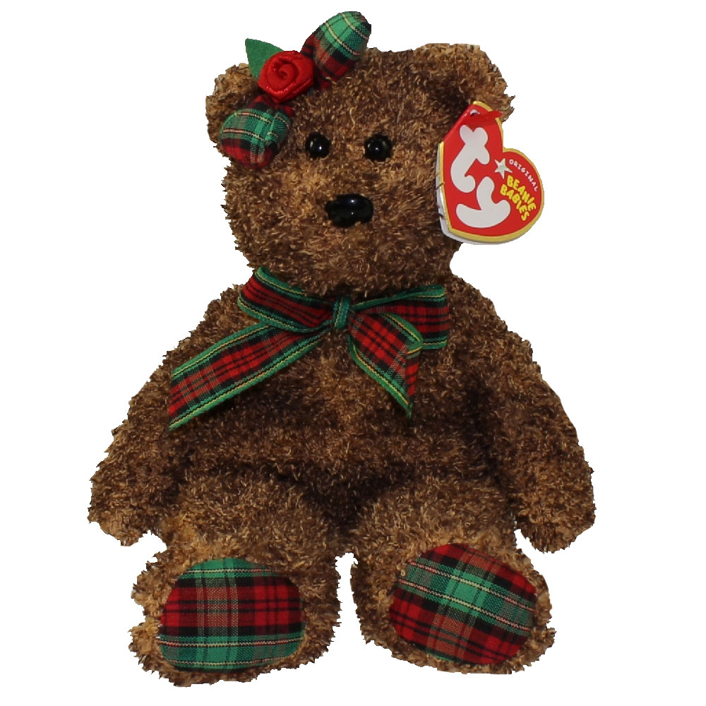 8ada32ebdbd TY Beanie Baby - HAPPY HOLIDAYS the Bear (Hallmark Gold Crown Exclusive) ( 8.5