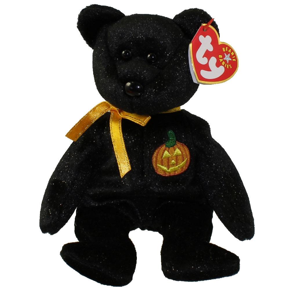 Ty Beanie Baby Haunt The Halloween Bear 8 5 Inch