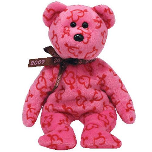 TY Beanie Baby   HEARTLEY The Valentineu0027s Bear (Hallmark Exclusive) (8 Inch)