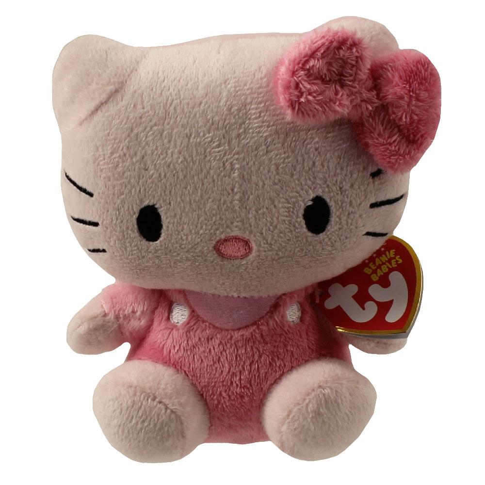 Hello Kitty Stuff Toys : Ty beanie baby hello kitty pink inch mwmt s