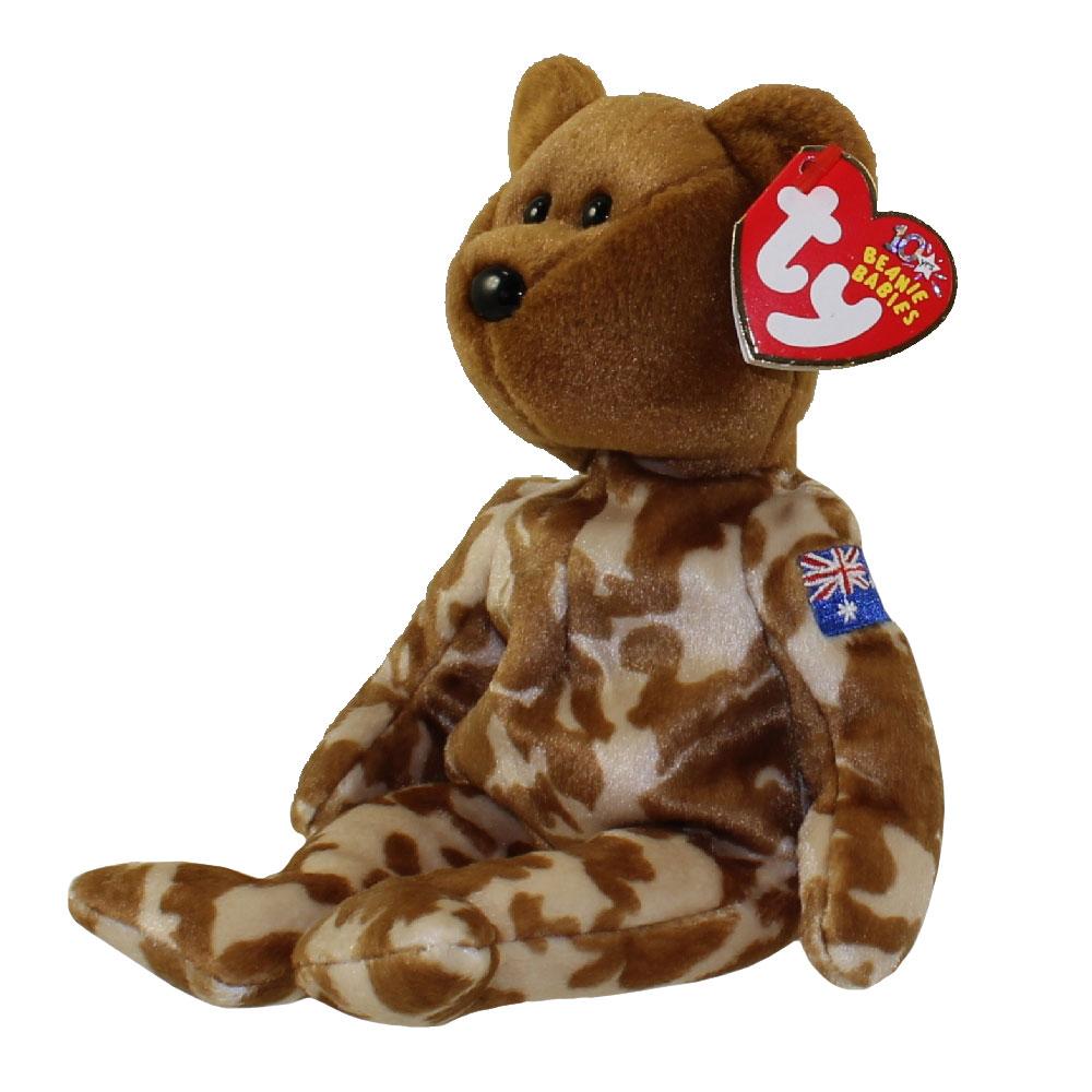 TY Beanie Baby - HERO the Military Bear (Australia Exclusive Version) (8 5  inch)