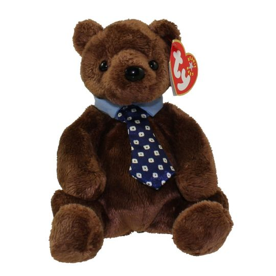 714cd3372ad TY Beanie Baby - HERO the Father s Day Bear (7 inch)  BBToyStore.com -  Toys