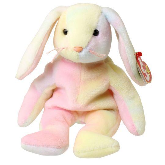 c9d8f016cdc TY Beanie Baby - HIPPIE the Tie-Dyed Bunny (8.5 inch)  BBToyStore.com -  Toys