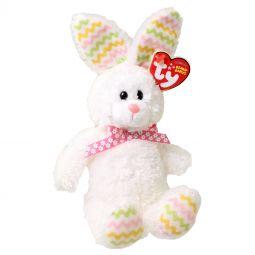 c341160c9fe TY Beanie Baby - HIPPITY the Fuzzy White Bunny (8 inch)