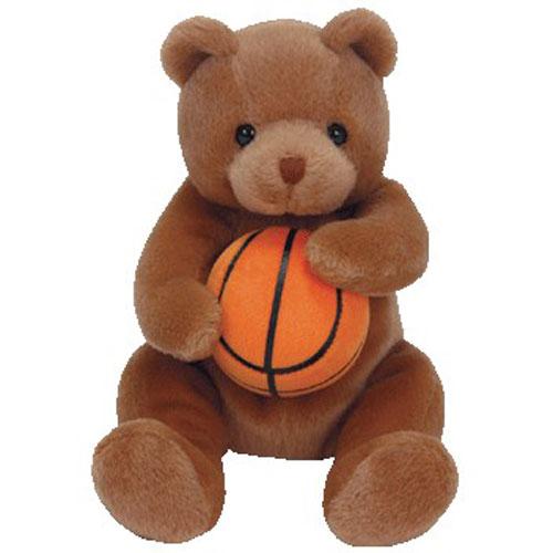 TY Beanie Baby - HOOPS the Basketball Bear (6.5 inch): BBToyStore ...