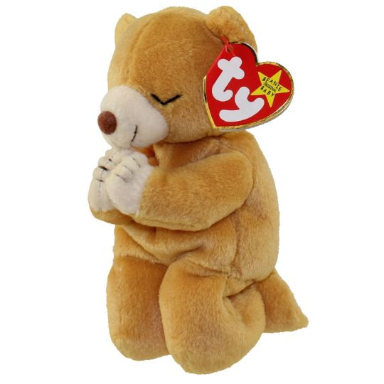 70cea77049b TY Beanie Baby - HOPE the Praying Bear (7 inch)  BBToyStore.com - Toys