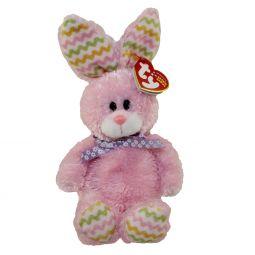 6f6d572eb5f TY Beanie Baby - HOPPITY the Fuzzy Pink Bunny (8 inch)