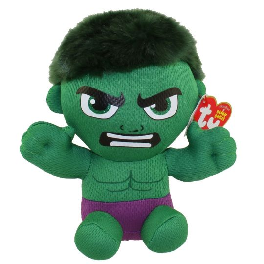 451a7edf52d TY Beanie Baby - HULK (Marvel)  BBToyStore.com - Toys