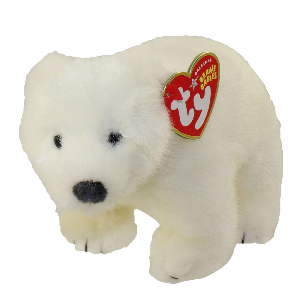 TY Beanie Baby - ICEPACK the Polar Bear (Internet Exclusive) (6.5 inch) eb6cedc8b256