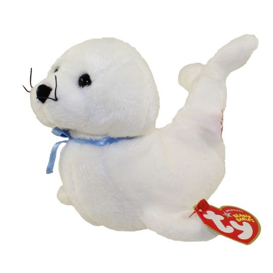 a3e18612262 TY Beanie Baby - ICING the Seal (6.5 inch)  BBToyStore.com - Toys ...