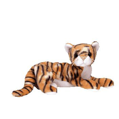 TY Beanie Baby - INDIA the Tiger (7 inch)  BBToyStore.com - Toys ... 2ce08aa7b38