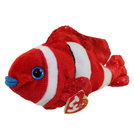 TY Beanie Baby - JESTER the Clownfish (8 inch)  BBToyStore.com - Toys bde45fd2bfe