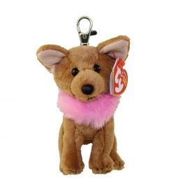 db8d9fc97c6da TY Beanie Baby - DIVALECTABLE the Chihuahua Dog ( Metal Key Clip ) ...