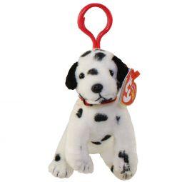 453e525ba36 TY Beanie Baby - DIZZY the Dalmatian ( Plastic Key Clip ) (5 inch)