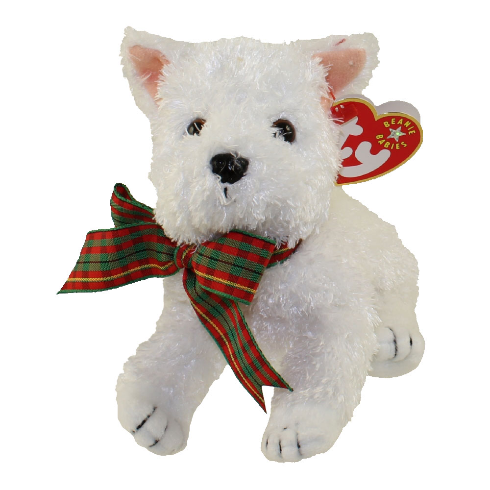 Ty Beanie Baby Kirby The White Dog 5 5 Inch
